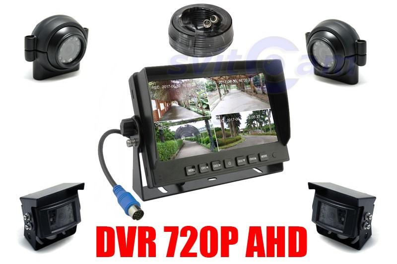 Видеорегисторатор - Монитор 2 в 1  Marshal MK412 для видеонаблюдения