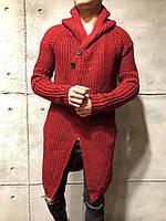 Мужской кардиган 2Y Premium 7024 red, фото 1