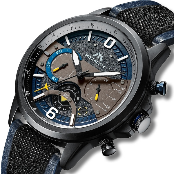MegaLith Мужские часы MegaLith Military, фото 1