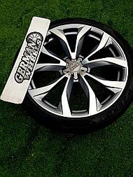 Оригинальные кованые диски R20 Audi S6 С7