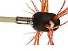 Роторный набор для чистки дымохода HANSA TORNADO 13 ручек, фото 2