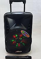 Колонка акумуляторная с микрофоном Rockysonic Q-08 / 150W (USB/FM/Bluetooth)