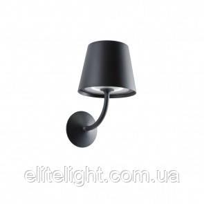 Настенный светильник Redo GIORGIO IP65 BK 3000K