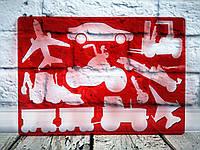 Трафарет Авто 9820/27418 KOH-I-NOOR Чехия
