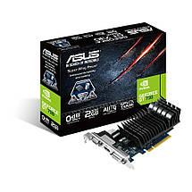 Видеокарта GeForce GT730, Asus, 2 Гб DDR3, 64-bit (GT730-SL-2GD3-BRK), відеокарта, фото 2