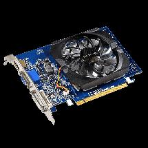 Видеокарта GeForce GT730, Gigabyte, 2 Гб DDR3, 64-bit (GV-N730D3-2GI), відеокарта, фото 2
