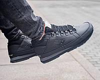 Зимние мужские кроссовки New Balance black (реплика)