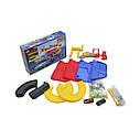Игровой набор Гараж ( 3 уровня, 2 машинки , 1:43 ) Bburago Street Fire Parking Playset 18-30025, фото 3