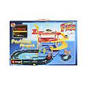 Игровой набор Гараж ( 3 уровня, 2 машинки , 1:43 ) Bburago Street Fire Parking Playset 18-30025, фото 2