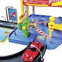 Игровой набор Гараж ( 3 уровня, 2 машинки , 1:43 ) Bburago Street Fire Parking Playset 18-30025, фото 4