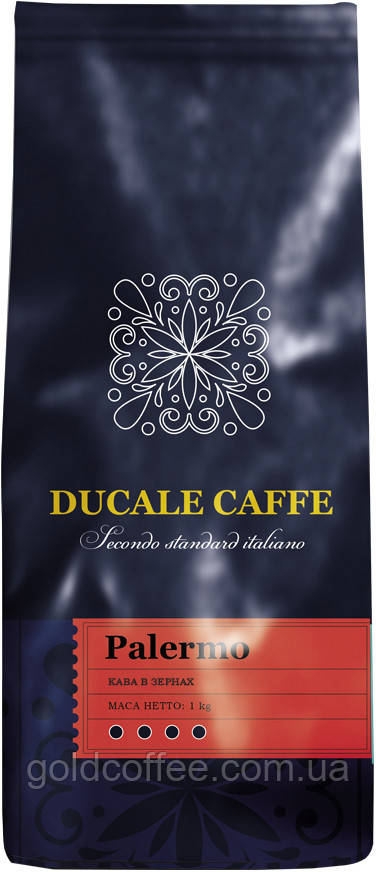 Кава в зернах Gemini Ducale Palermo 1000г