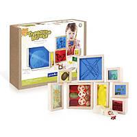 Набор блоков Guidecraft Natural Play Сокровища в ящиках, разноцветный (G3085), фото 1