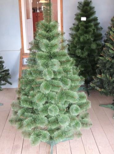 Сосна искусственная зеленая 1.2 м (пушистая)