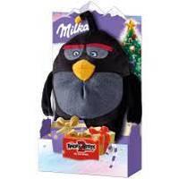 Подарочный набор шоколада Milka + игрушка Angry Birds