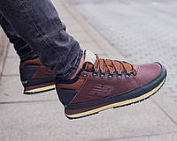 Зимние мужские кроссовки New Balance brown (реплика)