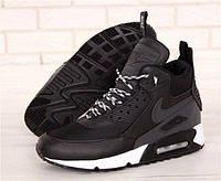Кроссовки мужские Nike Air Max 90 Sneakerboot Winter 30995 черные, фото 1
