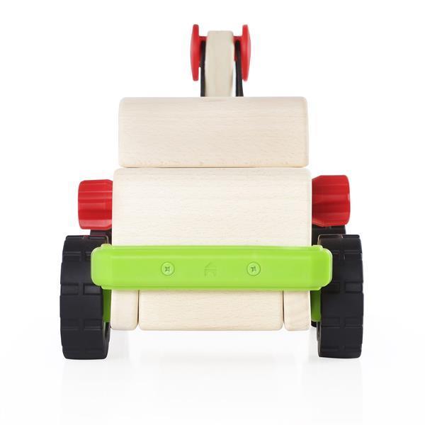 Іграшка Guidecraft Block Science Trucks Великий евакуатор (G7532)