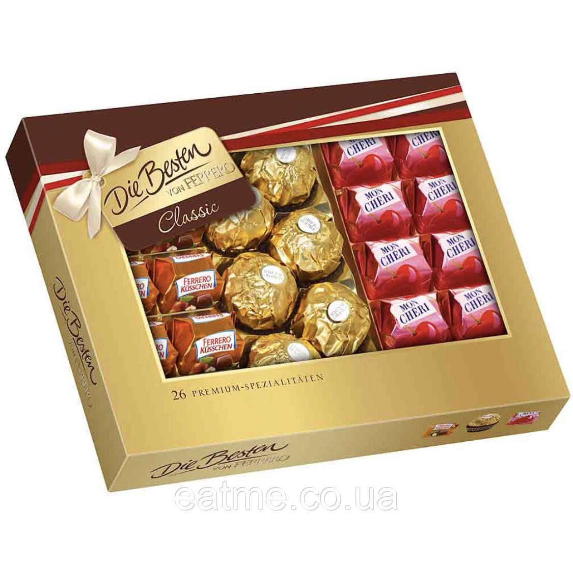 Die Besten von Ferrero Classic Невероятный набор конфет Ferrero