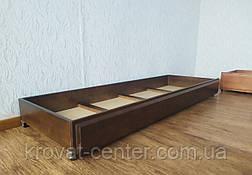 Подкроватних ящик на гумових коліщатках (довжина 140 см) від виробника, фото 3