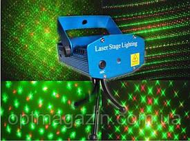 Лазерний проектор на ніжках Новорічні малюнки