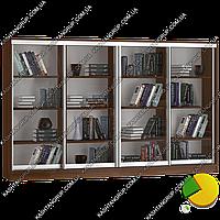 Книжный шкаф-комод Каштан 2200-1200-400 мм.