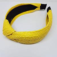 Обідок для волосся Плетіння (vtnm-ob) Жовтий