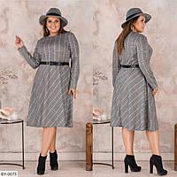 Стильное платье   (размеры 48-58) 0221-26