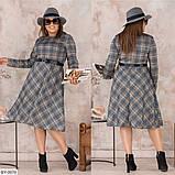 Стильное платье   (размеры 48-58) 0221-26, фото 2