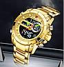 Мужские часы Naviforce 9163 (gold-black), фото 5