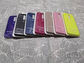 Чехол накладка Silicone Cover Full Protective для Xiaomi (Ксиоми) Redmi 8