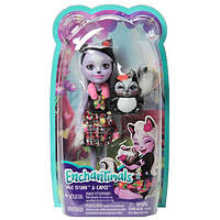 Кукла с питомцем Скунси Седж Mattel Enchantimals FXM72