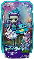 Mattel Enchantimals FXM74 Кукла Пэттер Павлина, 15 см, фото 1