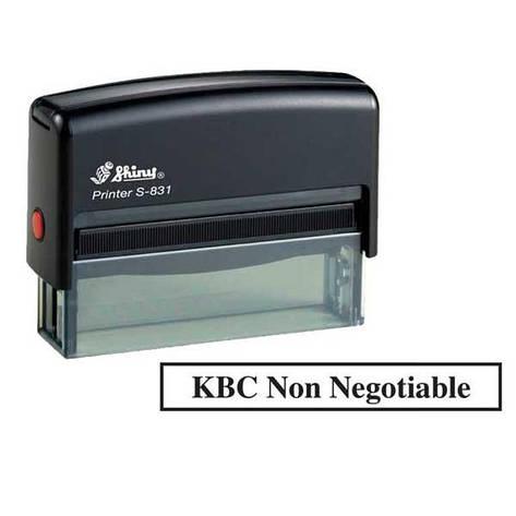 Оснастка Shiny Printer S831 для штампа 10x70 мм б/у, фото 2