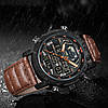 Мужские часы Naviforce 9160 (brown-black), фото 3