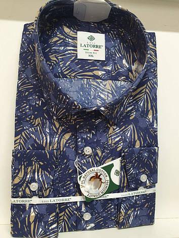 Мужская рубашка Latorre с принтом, фото 2