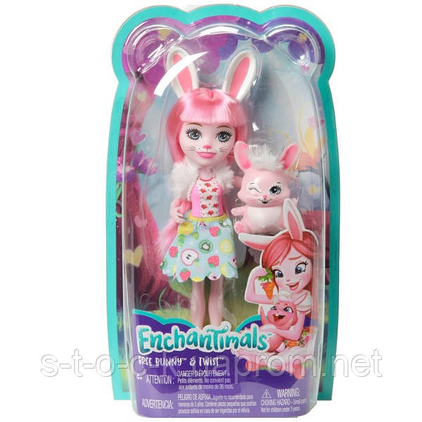 Mattel Enchantimals FXM73 Кукла Бри Кроля, 15 см