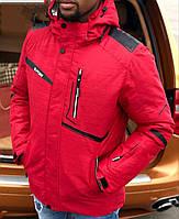 Мужская горнолыжная зимняя куртка отличного качества,см. полностью описание!