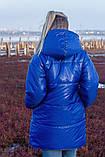 Женская зимняя двухсторонняя оригинальная куртка ЗЕФИРКА - ORIGINAL (3расцв).48-58р., фото 5