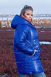 Женская зимняя двухсторонняя оригинальная куртка ЗЕФИРКА - ORIGINAL (3расцв).48-58р., фото 6
