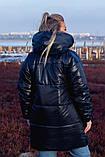 Женская зимняя двухсторонняя оригинальная куртка ЗЕФИРКА - ORIGINAL (3расцв).48-58р., фото 8