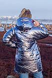 Женская зимняя двухсторонняя оригинальная куртка ЗЕФИРКА - ORIGINAL (3расцв).48-58р., фото 10