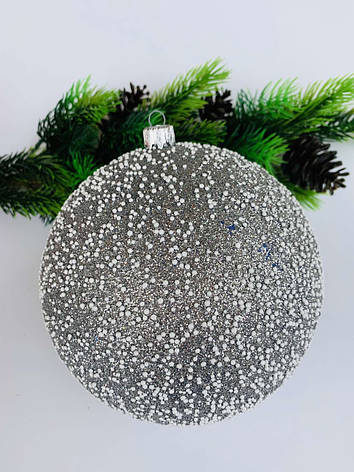Елочный шар. Большой новогодний шар на елку ( 15 см), фото 2