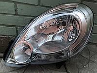 Фара левая Renault Kangoo, (Рено Кенго) 2009-2013 (Depo)