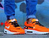 Кроссовки мужские Nike AIR MAX 1 D4962 оранжевые, фото 2