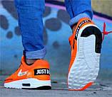 Кроссовки мужские Nike AIR MAX 1 D4962 оранжевые, фото 4