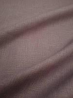 """Льняная сорочечная ткань """"Тауп"""", фото 1"""