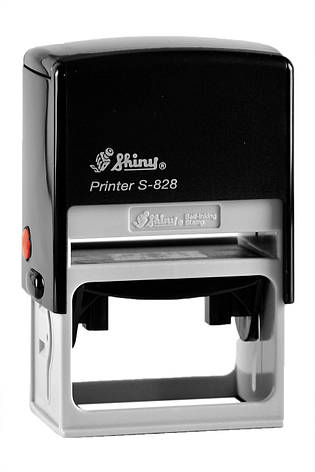 Оснастка Shiny Printer S828 для штампа 33x56 мм б/у, фото 2
