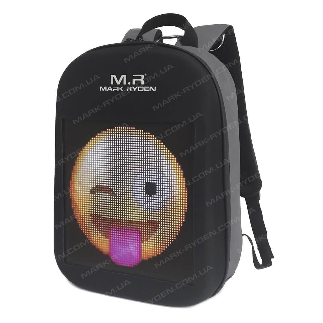 Рюкзак с LED экраном Mark Ryden Pixel MR9798 Gray