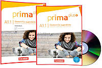 Немецкий язык / Prima plus / Schülerbuch+Arbeitsbuch+CD. Учебник+Тетрадь (комплект), A1/1 / Cornelsen