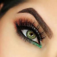 Цветные контактные линзы Freshlook Colorblends киви без диоптрий